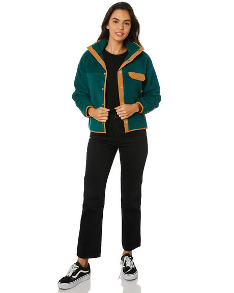 PONDEROSA GREEN WOMENS CLOTHING THE NORTH FACE JACKETS - NF0A3YSFG5D