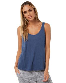 BLUE STEEL WOMENS CLOTHING RUSTY SINGLETS - TSL0517BST