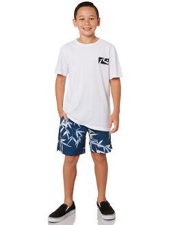 NAVY BLUE KIDS BOYS RUSTY BOARDSHORTS - BSB0354NVB