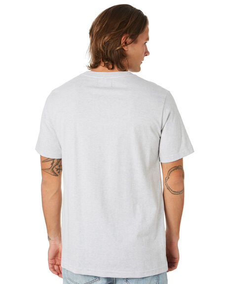 SILVER MENS CLOTHING LOWER TEES - LO19Q4MTS15SLVR