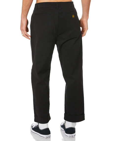 BLACK MENS CLOTHING DEPACTUS PANTS - D5204191BLACK