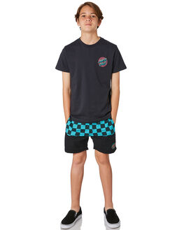 PHANTOM KIDS BOYS SANTA CRUZ TEES - SC-YTD8124PHAN