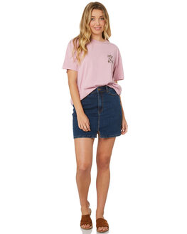 MAUVE WOMENS CLOTHING BILLABONG TEES - 6595006M41