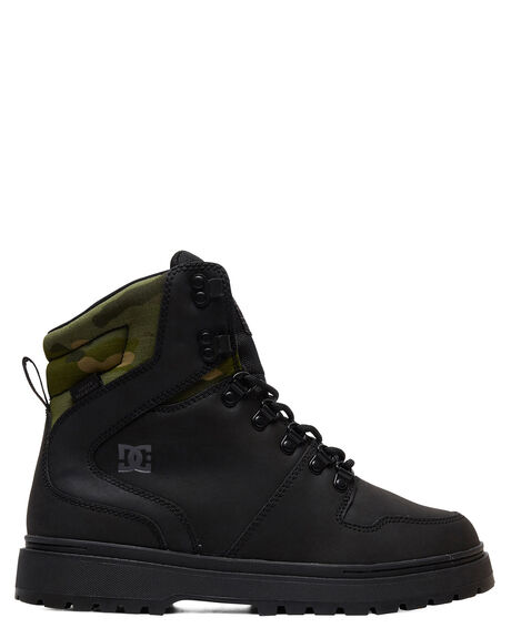 BLACK CAMO MENS FOOTWEAR DC SHOES BOOTS - ADYB700022-BLO