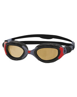 BLACK RED BOARDSPORTS SURF ZOGGS SWIM ACCESSORIES - 320847BKRD