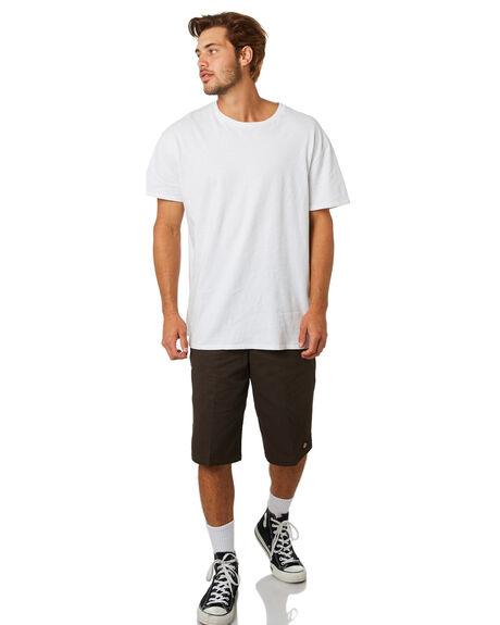 DARK BROWN MENS CLOTHING DICKIES SHORTS - 42283DBRN