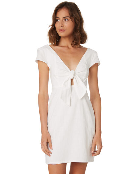 OFF WHITE WOMENS CLOTHING MINKPINK DRESSES - MP1806472WHITE