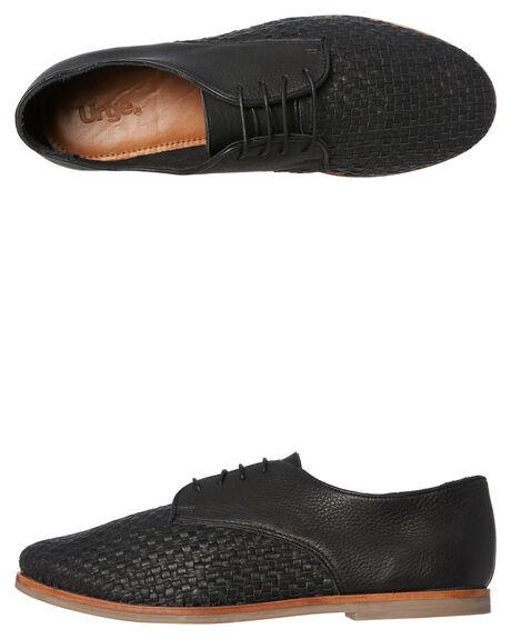 BLACK MENS FOOTWEAR URGE FASHION SHOES - URG17181BLK