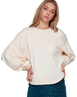 WHITE SMOKE WOMENS CLOTHING BILLABONG JUMPERS - BB-6507734-WIK