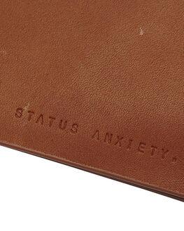 CAMEL MENS ACCESSORIES STATUS ANXIETY WALLETS - SA2043CAM