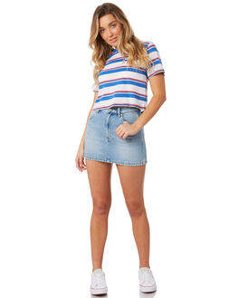 SUMMER FADED WOMENS CLOTHING WRANGLER SKIRTS - W-951286-IW8