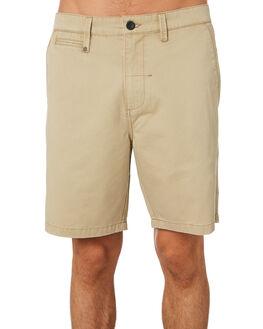 TAN MENS CLOTHING THRILLS SHORTS - TH9-316CTAN