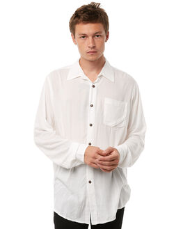WHITE MENS CLOTHING THE PEOPLE VS SHIRTS - AW18068-WWHT