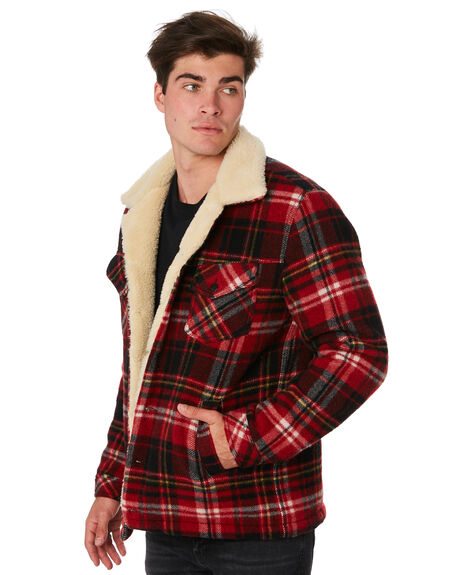 RED ALERT MENS CLOTHING NUDIE JEANS CO JACKETS - 160652R30