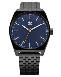BLACK NAVY GOLD MENS ACCESSORIES ADIDAS WATCHES - Z02-3140