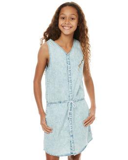 ACID BLUE KIDS GIRLS MUNSTER KIDS DRESSES - MM171DR01ACD