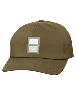 OLIVE MENS ACCESSORIES RVCA HEADWEAR - R371574OLV