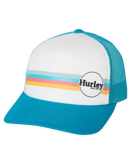 WHITE WOMENS ACCESSORIES HURLEY HEADWEAR - CI0039100