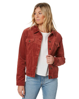 RUST WOMENS CLOTHING THE HIDDEN WAY JACKETS - H8182382RUST