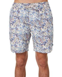 INDIGO IKAT MENS CLOTHING BARNEY COOLS BOARDSHORTS - 801-Q220INDI