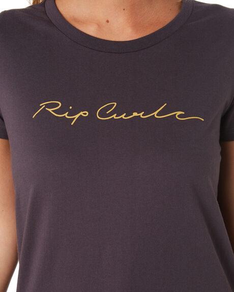 NINE IRON WOMENS CLOTHING RIP CURL TEES - GTEDB24285