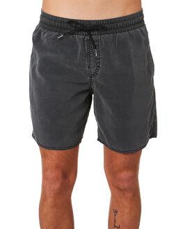 BLACK MENS CLOTHING VOLCOM BOARDSHORTS - A25418G0BLK
