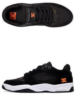 BLACK PRINT MENS FOOTWEAR DC SHOES SNEAKERS - ADYS100524-BPT