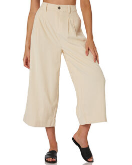 ANTIQUE WHITE OUTLET WOMENS BILLABONG PANTS - 6596402WHI