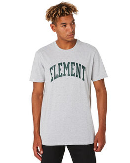 GREY HEATHER MENS CLOTHING ELEMENT TEES - 196025GRYHT
