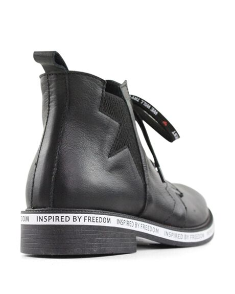 BLACK WOMENS FOOTWEAR BUENO BOOTS - FREEDOMBLACK36