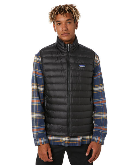 BLACK MENS CLOTHING PATAGONIA JACKETS - 84622BLK