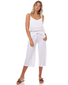 WHITE WOMENS CLOTHING SWELL PANTS - S8171194WHT