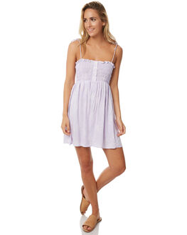 LILAC FLOWER WOMENS CLOTHING RUE STIIC DRESSES - S118-3LILAC