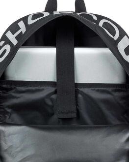 BLACK MENS ACCESSORIES DC SHOES BAGS + BACKPACKS - EDYBP03201-KVJ0