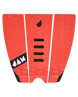 RED BOARDSPORTS SURF JAM TRACTION TAILPADS - TPM3PRED