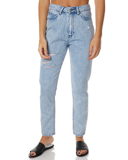 THRIFT BLUE WOMENS CLOTHING LEE JEANS - L-656105-BL5THR