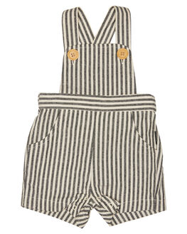 BLACK CREAM KIDS BABY ROCK YOUR BABY CLOTHING - BBB1910BKCRM