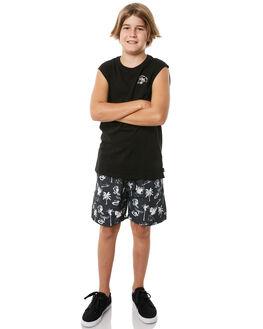 BLACK KIDS BOYS SWELL SHORTS - S3184232BLACK
