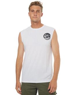 WHITE SURF RASHVESTS QUIKSILVER MENS - EQYWR03070WBB0