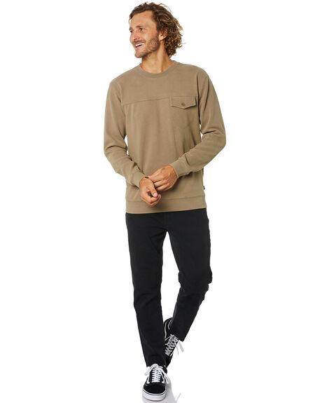 KHAKI MENS CLOTHING O'NEILL JUMPERS - 591151113C