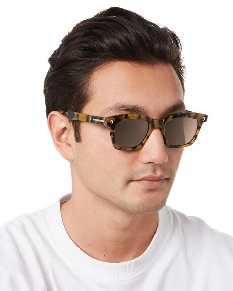 YELLOW TORT MENS ACCESSORIES VALLEY SUNGLASSES - S0496YTRT
