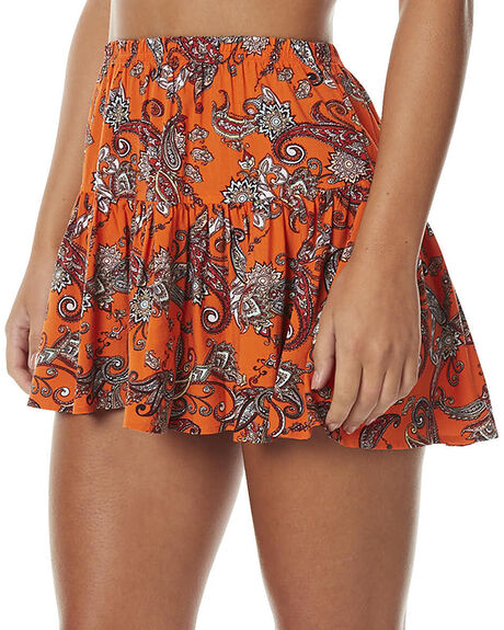 FLORIDITA PRINT WOMENS CLOTHING ALL ABOUT EVE SKIRTS - 6483026PRNT