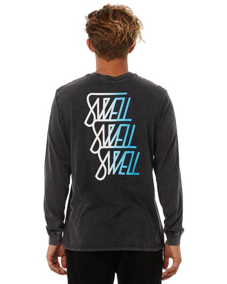 ACID BLACK MENS CLOTHING SWELL TEES - S5183100ACDBK