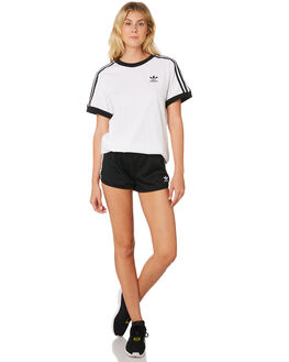 WHITE WOMENS CLOTHING ADIDAS TEES - DH3188WHT