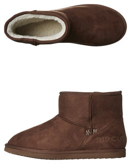 BROWN MENS FOOTWEAR RIP CURL UGG BOOTS - TCCAD1009