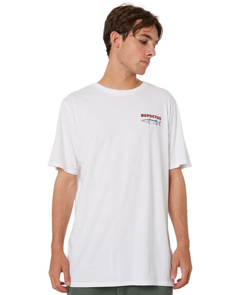 WHITE MENS CLOTHING DEPACTUS TEES - D5213002WHT