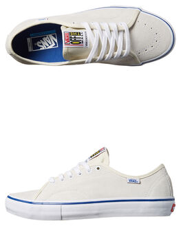 WHITE TRUE BLUE MENS FOOTWEAR VANS SKATE SHOES - VN-08C2DM9WHT