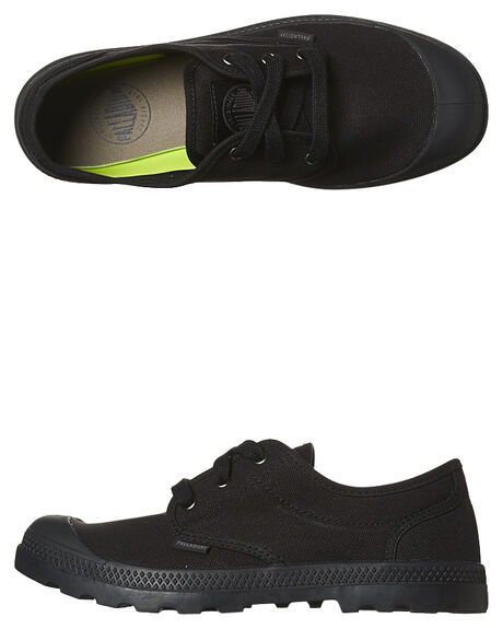 95941832e89 Palladium Pampa Oxford Shoe - Black Black | SurfStitch