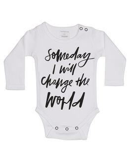 WHITE KIDS BABY FRANKIE JONES CLOTHING - SOMEDAYONEWHT