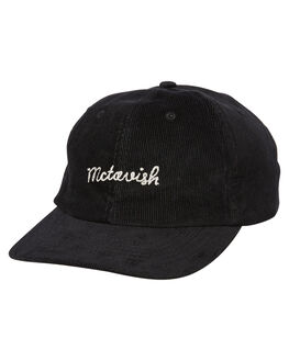 BLACK MENS ACCESSORIES MCTAVISH HEADWEAR - MS-19HW-03BLK